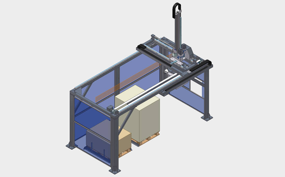 Pallet Packaging Machines - Confezionatrice Pallet - Tron -DM Pack